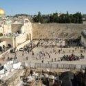 Jerusalem Western Wall plaza