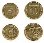 israeli currency agorot