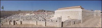 model of first century jerusalem