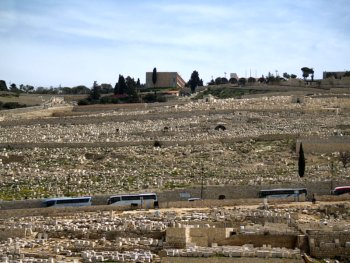 The Mount of Olives Cemetery
