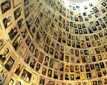 Hall of Rememberance in Yad Vashem Museum