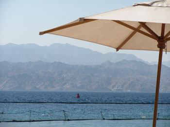 View of the Gulf of Eilat
