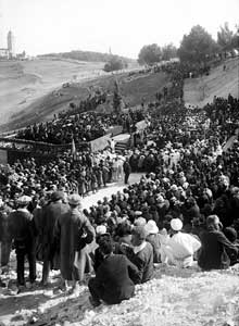 Hebrew University Jerusalem founding ceremony