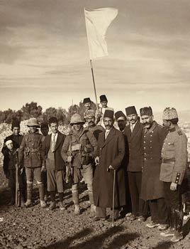 Turkish surrender of Jerusalem to British - 1917
