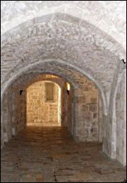 Entrance to St James Church in Jerusalem's Armenian Quarter