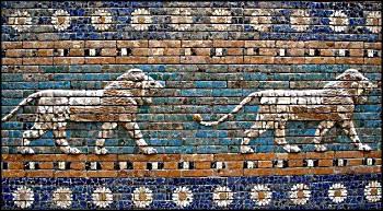 Tiles from the Gates of Babylon