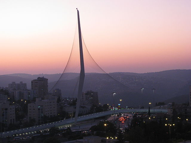 Jerusalem Calatrava bridge of strings