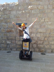 Segway in Jerusalem