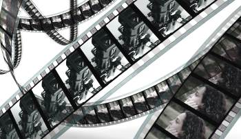 film strip for Jerusalem Film Festival