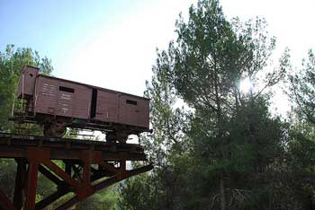 Train car at Yad Vashem