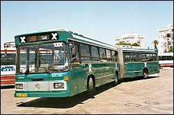 getting around jerusalem by bus