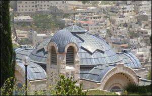 Peter in Gallicantus Jerusalem