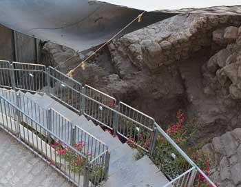 City of David excavation in Jerusalem