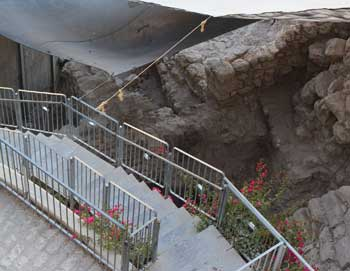 City of David excavation in Jerusalem
