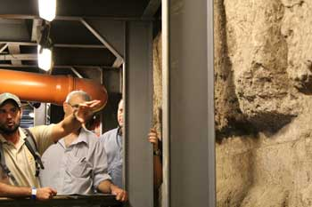 city of david tunnel excavations in Jerusalem