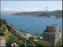 Istanbul's Bosphorus Bridge