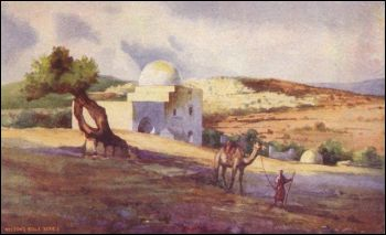 painting of rachel's tomb