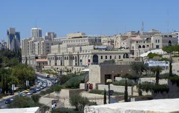 Mamilla Mall in downtown Jerusalem