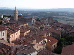 Medieval village in Maremma Tuscany.