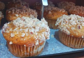 pumpkin muffins in Jerusalem