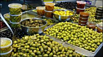 olives in Machane Yehuda, Jerusalem