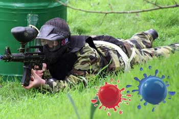 Jerusalem paintball near the Haas Promenade