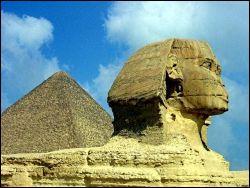 spynx and pyramids of Giza