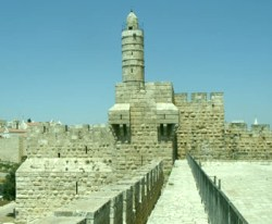 Tower of David in Jerusalem Old City