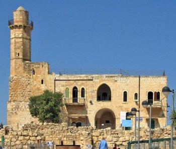 The tomb of the Prophet Samuel in Jerusalem