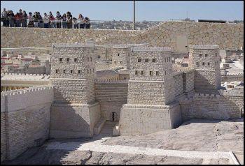antonia fortress in first century jerusalem