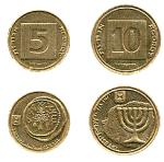 israeli currency agorot
