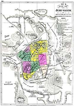 Jerusalem Maps