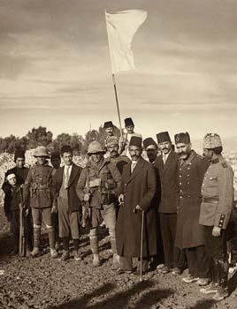 Turkish surrender of Jerusalem to British - 1917
