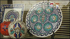 Armenian ceramics of Jerusalem