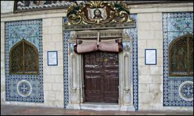 Doors to St James Church in Jerusalem's Armenian Quarter