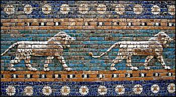 Tiles from the Gates of Babylon