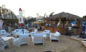 Beach bar in Jerusalem