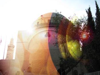 lens on Jerusalem