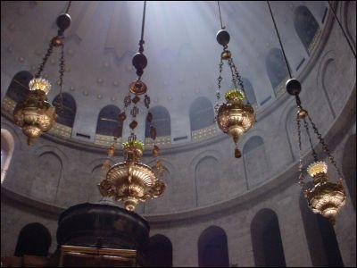 lamps over golgotha