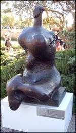 Henry Moore sculpture in Jerusalem