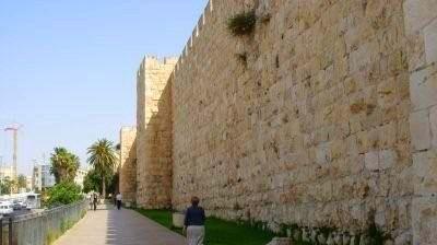 Walls of Jerusalem Old Cit