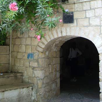 King David's Tomb on Mt. Zion in Jerusalem