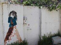 Murals in Nahlaot, Jerusalem