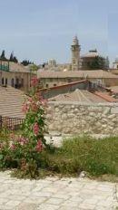Jerusalem Old City rooftop