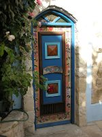 Door in Tzfat or Safed