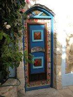 Door in Tzfat or Safed