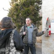 Tour guide in Jerusalem