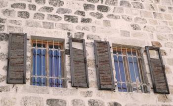 windows in Jerusalem